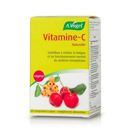 A.Vogel Vitamin-C Natural 40 chew. tabs
