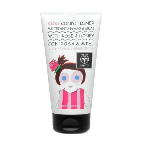 Apivita Kids Conditioner with Honey & Rose, 150ml