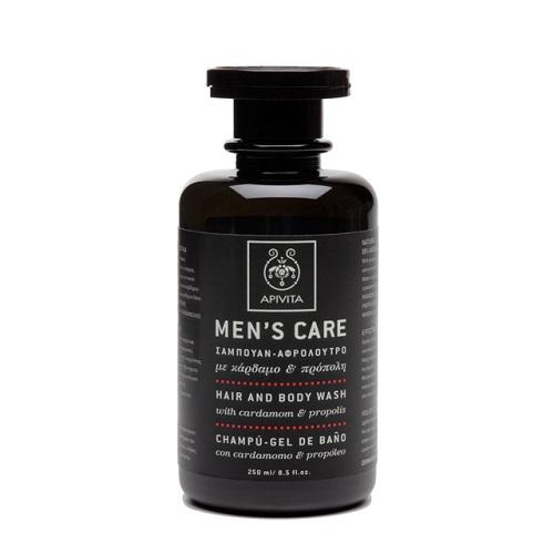 Apivita Men's Care Men's Shampoo - Cardamom & Propolis Shampoo 250ml