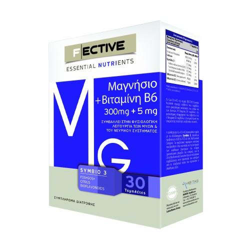 Ambitas F Ective Magnesium 300 mg + Vitamin B6 30 tablets