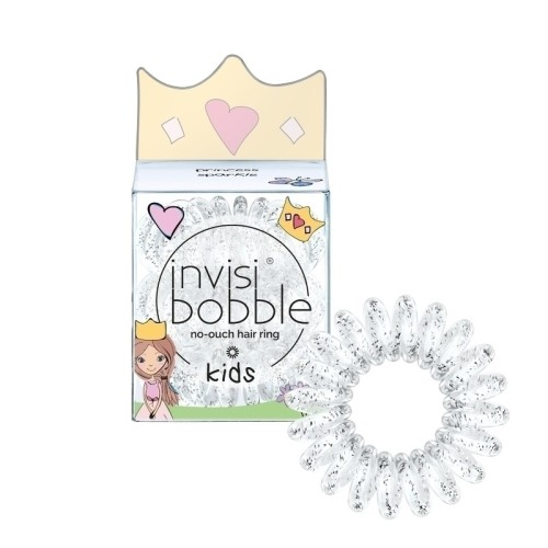 Invisibobble Kids Princess Sparkle Hair Rubber 3 pcs. Ideal for little girls