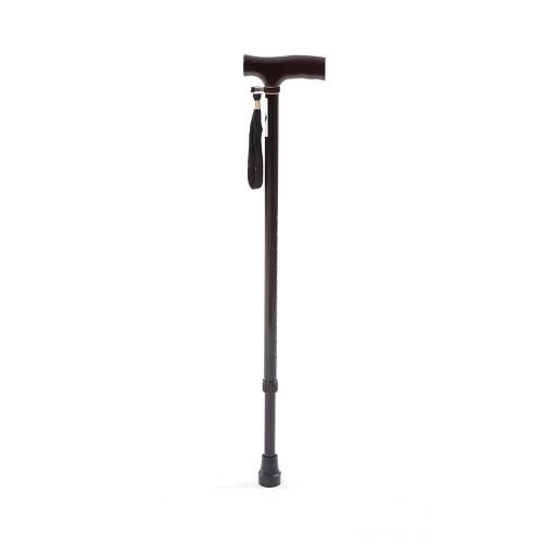 Anatomic Help 0604 Adjustable Metal Walking Cane 1pc (Black)