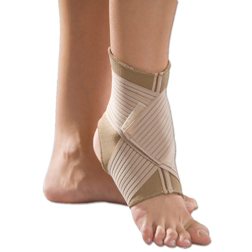 Anatomic Help 3031 Ankle Support with 2 Bandages Neoprene 1pc