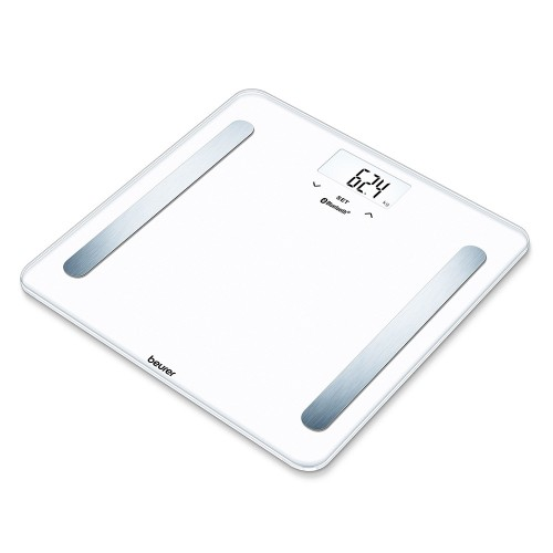 Beurer BF 600 Diagnostic Bathroom Scale in Pure White