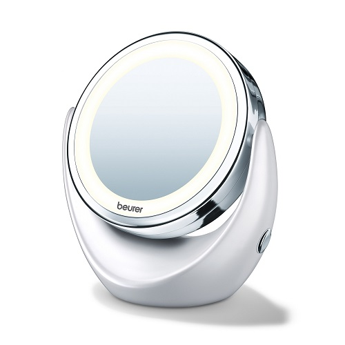 Beurer BS 49 Mirror with Light and Magnifying Side, 1 pcs
