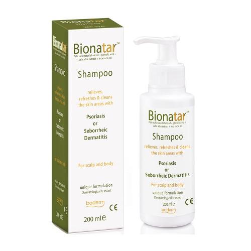 Boderm Bionatar Shampoo for Symptoms of Psoriasis 200ml