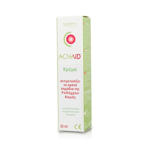 Boderm Acnaid Cream - Control the Visible Signs of Rosacea, 30ml