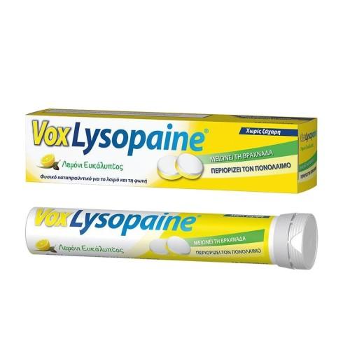Vox Lysopaine Lemon - Eucalyptus 18pcs