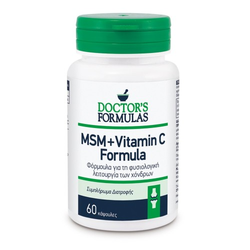Doctor's Formulas Msm + Vitamin C or the Normal Function of Cartilage 60caps
