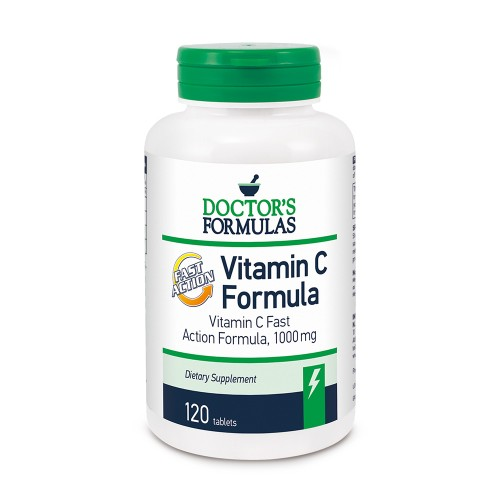Doctor's Formula Vitamin C 1000mg Fast Action 120caps
