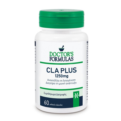 Doctor's Formulas CLA Plus 1250mg for Weight Loss and Muscle Growth 60caps