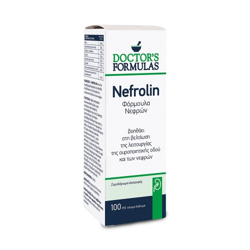 Doctor's Formulas Nefrolin Dietary Supplement for a Healthy Urinary System 100ml