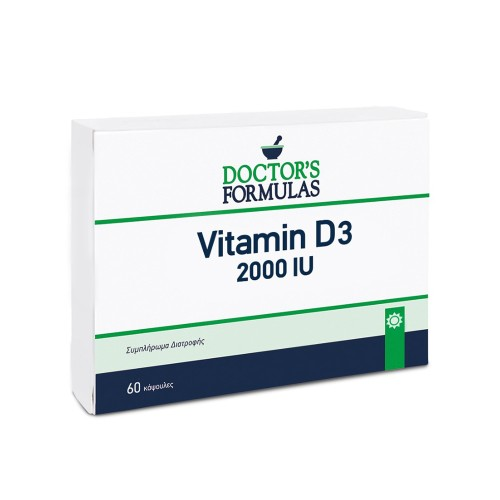 Doctor's Formulas Vitamin D3 2000iu 60caps