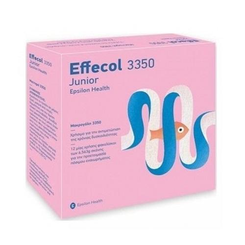 Epsilon Health Effecol 3350 Junior for Constipation Treatment 24 sachets