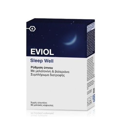 Eviol Sleep Well 30 κάψουλες