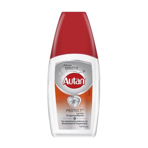 Autan Protect Icaridin Protection Repellent Emulsion Anti Mosquitoes & Ticks 100ml
