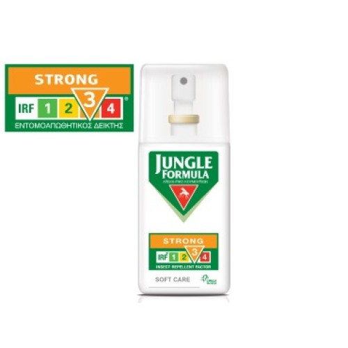 Omega Pharma Jungle Formula Strong Soft Care with IRF 3 Spray 75ml
