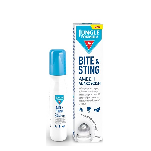 Jungle Formula Bite & Sting Roll On for immediate sting relief, 15ml
