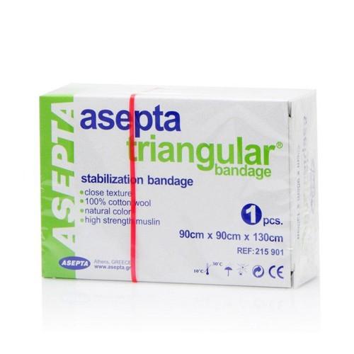 Asepta Triangular Bandage 90x90x130cm 1pc