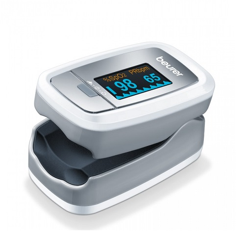 Beurer PO 30 Finger Oximeter & Heart Rate Meter 1pcs