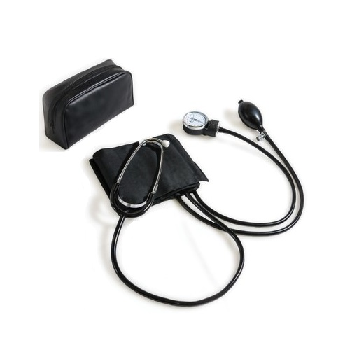 Matsuda Analog Blood Pressure Monitor With Built-in Stethoscope, 1pcs