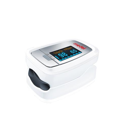 Medel PO 01 Οξύμετρο Δακτύλου & Μετρητής Καρδιακών Παλμών, 1τμχ