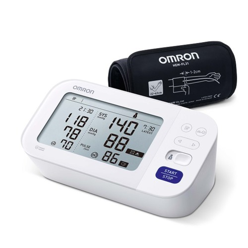Omron M6 Comfort HEM-7360-E Upper Arm Blood Pressure Monitor 1pc
