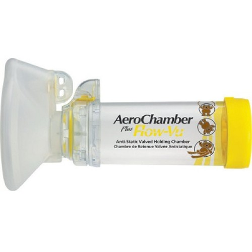 Trudell AeroChamber Plus Kids Mouthpiece, Baby Mask for 1-5 years old