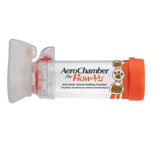Trudell Aerochamber Plus Flow-Vu Small Mask (0 - 18 Μηνών)
