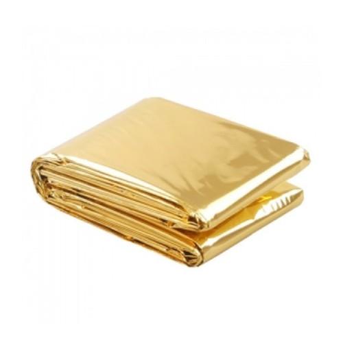 Emergency Rescue Blanket (Gold/Silver) 130x210cm, 1pcs