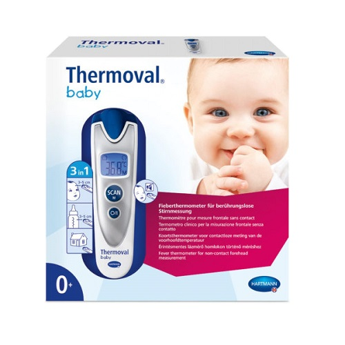 Hartmann Thermoval Baby Sense Infrared Thermometer 1pc (925092)