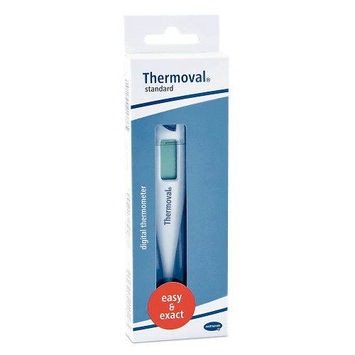Hartmann Thermoval Standard Digital Medical Thermometer, 1pcs