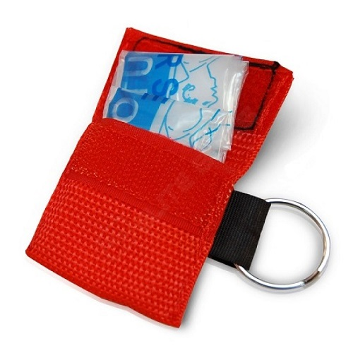 "CPR (""Kiss of Life"") Rescue Mask in Keylock, 1 piece"