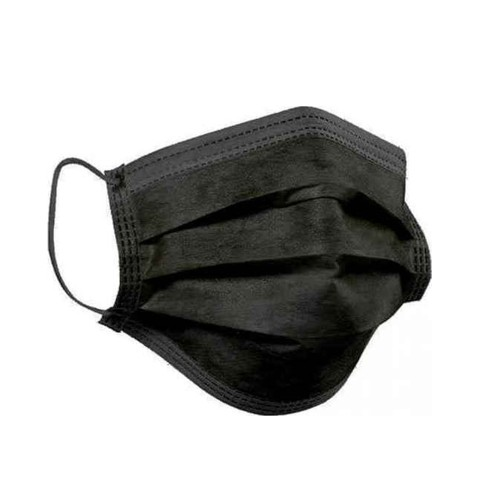 Syndesmos SynMask Surgical Face Masks 3ply Type II (EN 14683) Black 20pcs