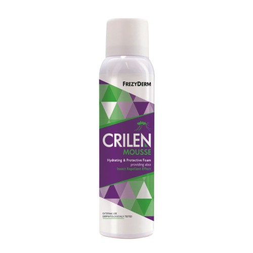 Frezyderm Crilen Mousse Moisturizing Insect Repellent Foam 150ml