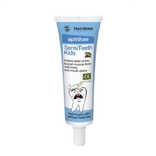 Frezyderm SensiTeeth Kids Aphthae Soothing, Healing Gel For Oral Ulcers 25ml