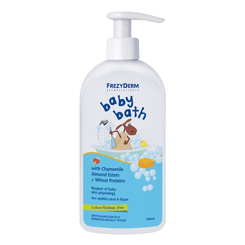 Frezyderm Baby Bath Gentle Baby Shower Gel with Pump, 300ml
