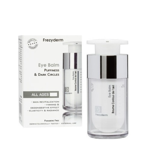 Frezyderm Eye Balm Eye Cream for Black Circles and Bags, 15ml