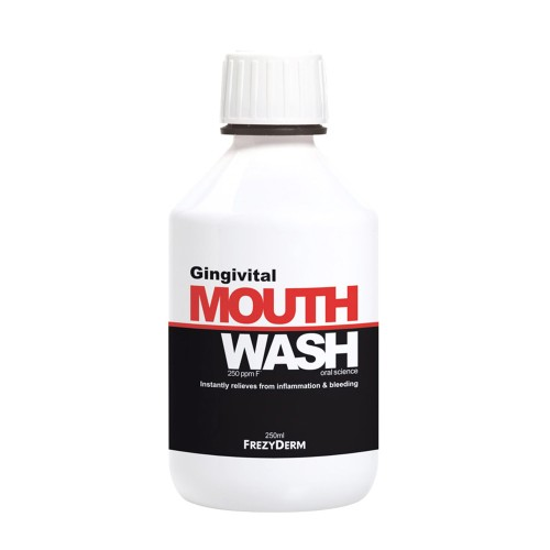 Frezyderm Gingivital Mouthwash Prevents Gingivitis and Periodontitis 250ml
