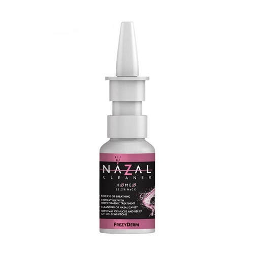 Frezyderm Nazal Cleaner Homeo - Nasal Spray Compatible With Homeopathy 30ml