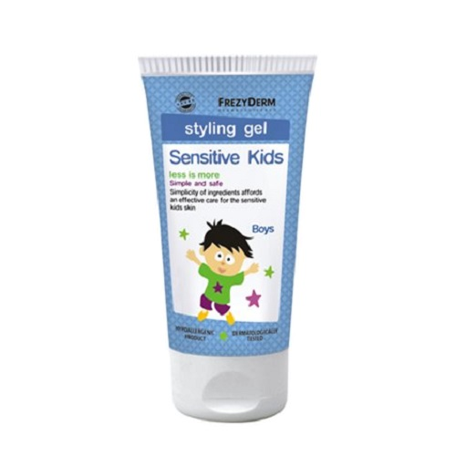 Frezyderm Sensitive Kids Hair Styling Gel for Boys Hair Gel 100ml