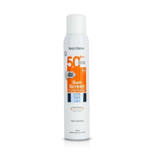 Frezyderm Sun Screen Invisible Spray SPF50+ 200ml