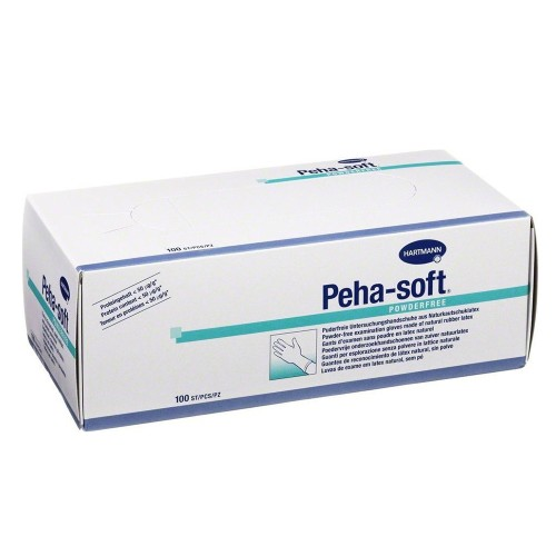 Hartmann Peha Soft Latex Powderfree White 100pcs