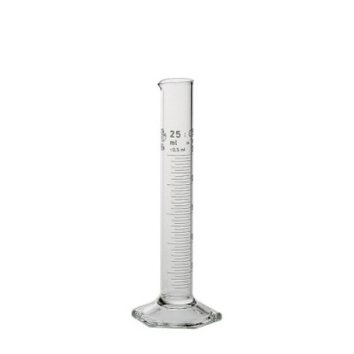 Chemco Glass Cylindrical Volumetric Tube 25ml