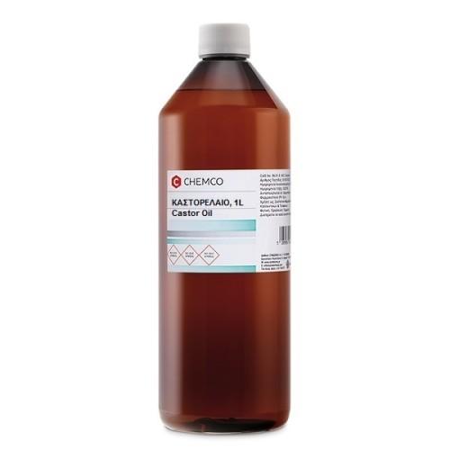 Chemco Refined Castor Oil, 1000ml