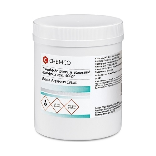 Chemco Base Aqueous Cream 400gr