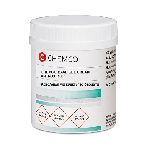 Chemco Base Gel Anti-ox Cream Suitable for sensitive skin 100g