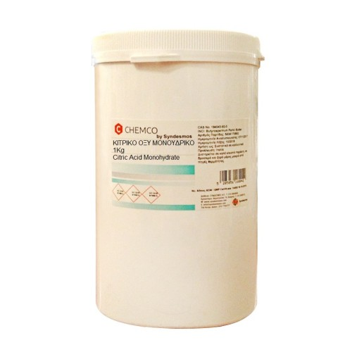 Chemco Citric Acid Μonohydrate 1kg