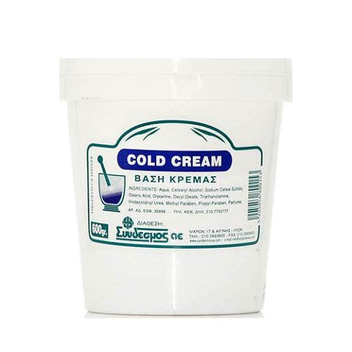 Chemco Cold Cream - Cream Base 600gr