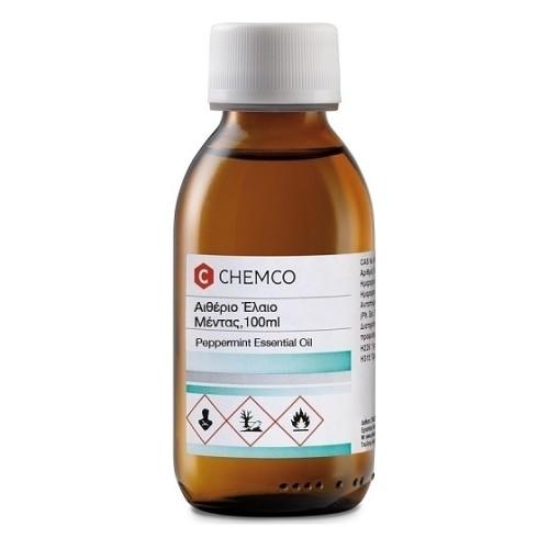 Chemco Peppermint Essential Oil Αιθέριο Έλαιο Μέντας, 100ml